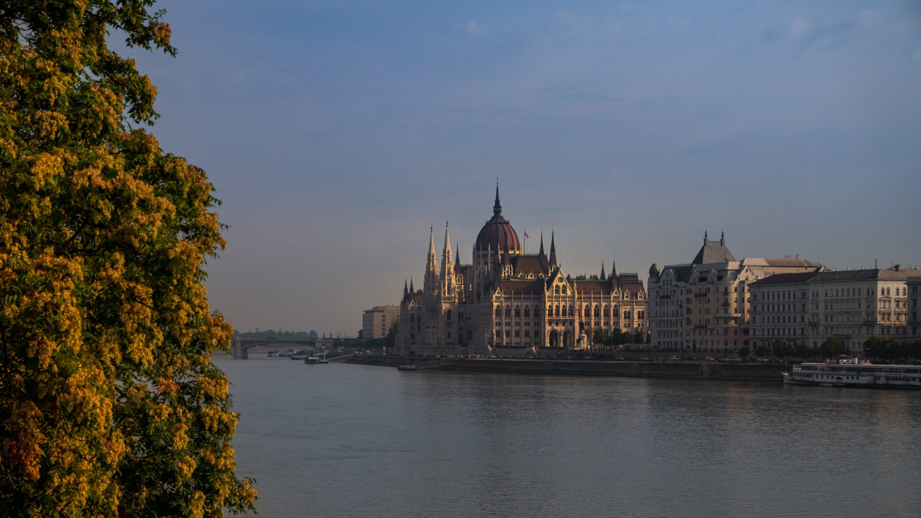 The Parlament in Budapest Hungary