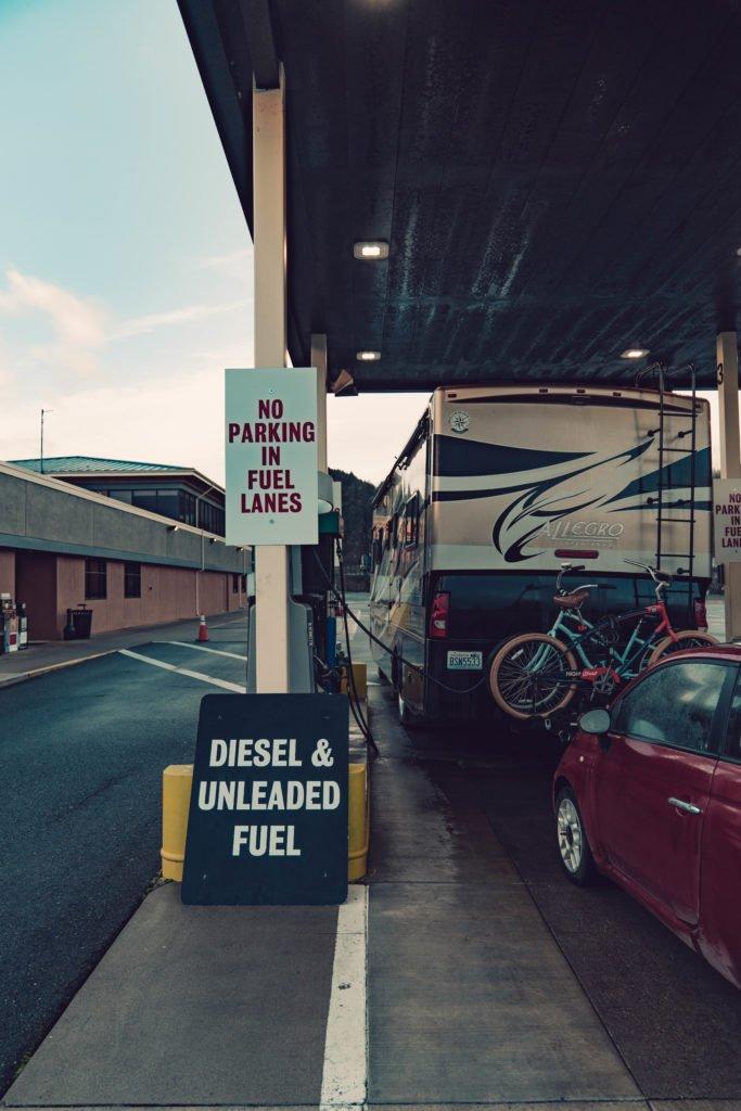 RV Gas Station